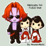 Marionette Owl FLELE Shell by AnonimAlexis