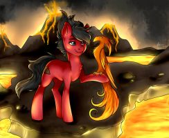 [Commission] Flare by AlexisPaint