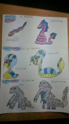 water/poison types by Shadow-corees