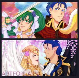 FEBridalzine - zine pieces Preview!! by levenark