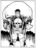 Punisher by luisalonso