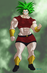 Buff Anime Girl2 Redux by hulkdaddyg