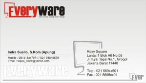 Everyware Business Card by xsos