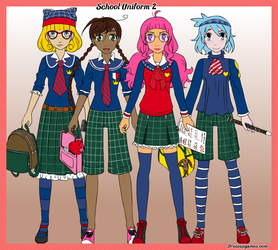 School Uniform Creator version 2 by DressUpGamescom
