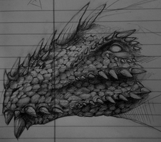 + Dragon Head + by ToxicOxygen