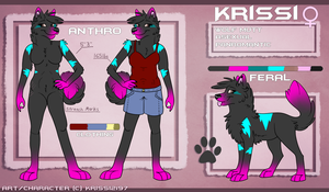 Krissi Official Reference Sheet (2015) by Krissi2197
