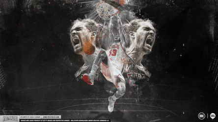 Joakim Noah Passion Wallpaper by Chadski51