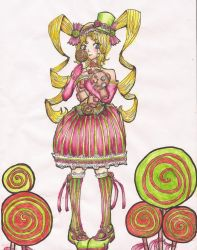 Lollipop Gothic Lolita by scaryrabidfangirl