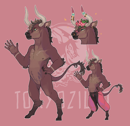 Beef child character design auction (CLOSED) by Tokyozilla