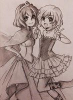 Henrietta and Mion~!! by OtakuPup