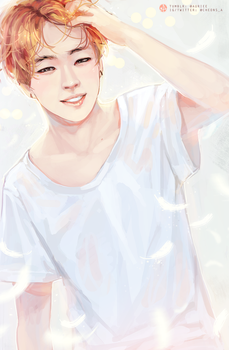 RUN _ Fluffy Jimin by Aureta