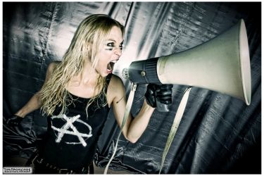 Angela Gossow (Arch Enemy) / 2010 by TimTronckoe