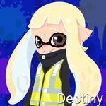 Destiny (14 Years Old, Inkling Form) by Brightsworth-Heroes