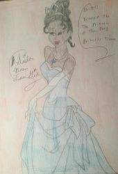 Disney's The Princess And The Frog Tiana 2 by SailorMoonFanGirl