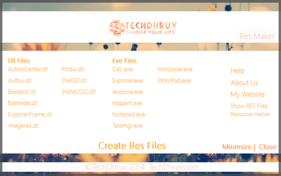 Res File Maker by TheDhruv