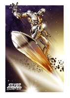 Silver Surfer by HOLOCGRAM