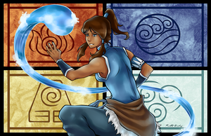 Avatar Korra by ToolOfTheDay