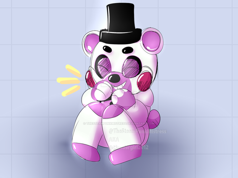 FNAF: Helpy by TheSteamPunkMistress