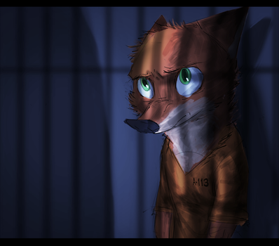 [Zootopia} Drifter - Mood Concept Piece. by EmberLarelle276