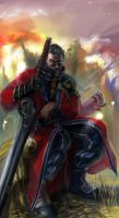 Sir Auron revisited by Abishai