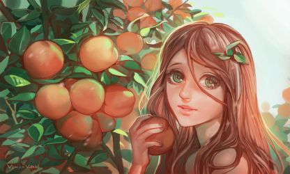 Peaches by viki-vaki