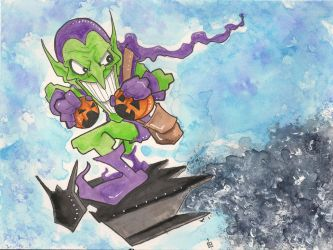 Green Goblin by 10th-letter