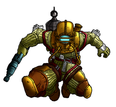 Bioshock Colouring by Serenity4art