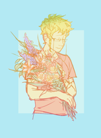 Flower boy by guilefulConvoy