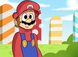 Mario Animation by mariogamesandenemies