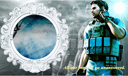 Chris Redfield by aoshi1484