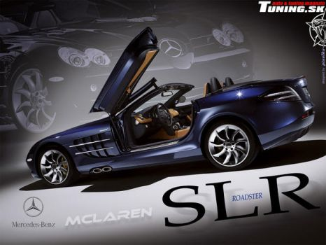 Mercedes SLR McLaren Roadster by TuningmagNet