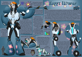 Happy Flower - Shiny New Ref by Okami-Haru
