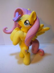 Fluttershy and Butterfly by EarthenPony