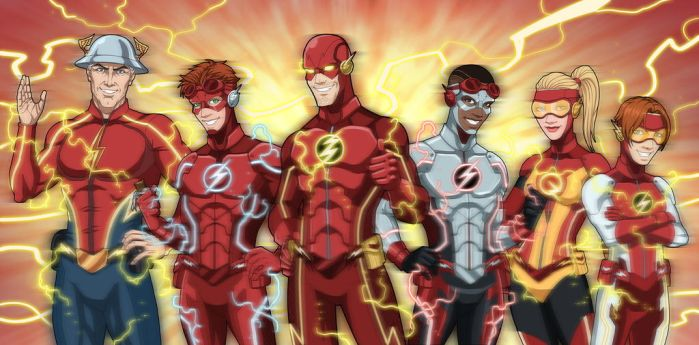 Flash Family NEW by phil-cho