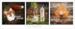 Golden charms : icon set by Keila-the-fawncat