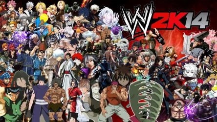 WWE 2K14 Special Roster by yoink13
