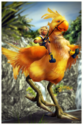 Chocobo Ride 01 by mylochka