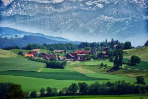 Rural Switzerland by LeWelsch