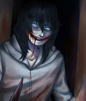 |Jeff the Killer| Bedtime by Cross-Hatch001