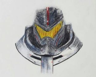 WIP : Gipsy Danger (Pacific Rim) by nishaloveschocolate
