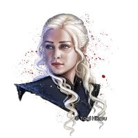 Game of Thrones/Daenerys Targaryen by yagihikaru