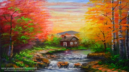 House along the River by beejay-artlife12