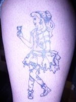 punk belle tattoo2 by ravercandy