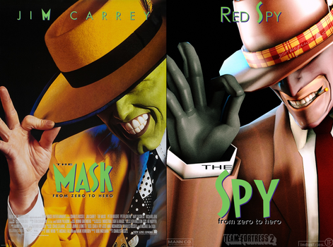 The Mask - The Spy by suijingames