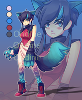 Wolf Girl Assasin Adopt [CLOSED] by LilyOndine