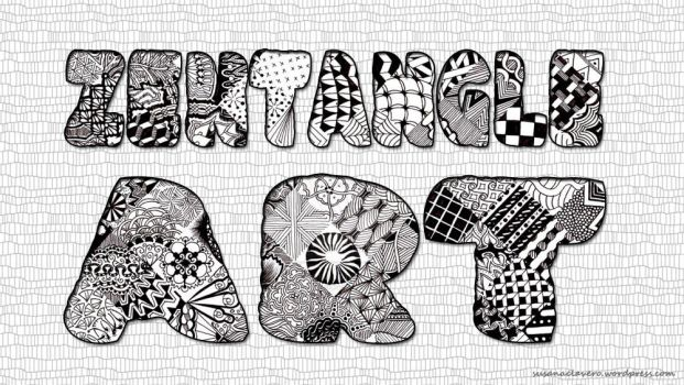 Zentangle Art by @Susana Clavero by SusanaCLLL