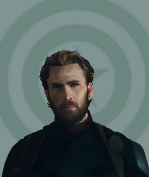 Does this beard make Cap hot in the summer? by Dreamsoffools