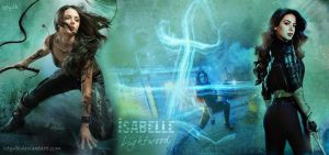 Isabelle Lightwood wallpaper by letydb