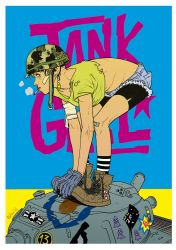Tank Girl  by pietro-ant