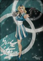 Sue Storm Pin Up by randomality85